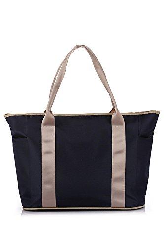 Gosear® Multifonctionnel voyage plein air sac de bébé Portable bébé couches Nappy stockage organisateur sac fourre-tout sac à main Cosmetic sac momie mère Royal Blue
