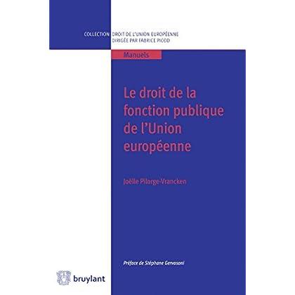 Droit de la fonction publique de l'Union européenne