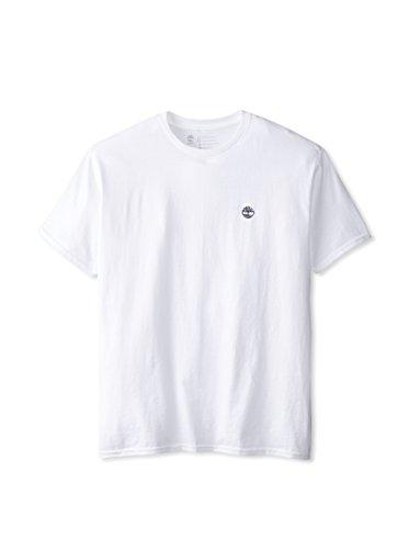 TIMBERLAND HERREN CLASSIC BESTICKTES LOGO T-SHIRT 2XL (Shirt Jersey Bestickte Sport)