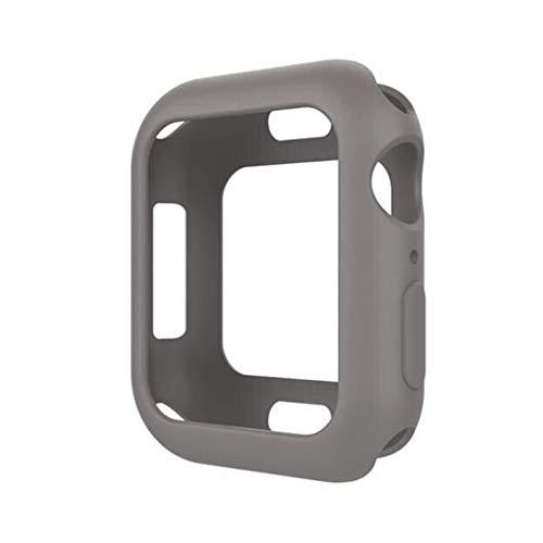 Preisvergleich Produktbild traline Ersatz für iWatch 4 Wristband Protector Soft Silikon Sportuhrgehäuse Schutzhülle 40mm / 44mm