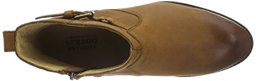 Sebago Nashoba Low Boot WP, Bottes Classiques Femme Marron (Brown Leather WP)