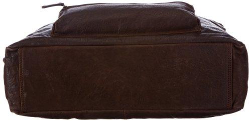 Bugatti Go West Business-Tasche, Querformat medium 49530902, Unisex-Erwachsene Messengertaschen, Braun (Braun Braun), 43x32x13 cm (B x H x T) Braun (Braun Braun)