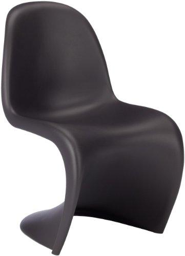 Preisvergleich Produktbild vitra 44003001 panton chair seit 1999 basic dark (=schwarz)