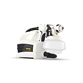 Wagner W 500 Electric Paint Sprayer for Wall & Ceiling paint - interior usage, covers 15 m² in 7 min, 1800 ml capacity, 370 W, 1.8 m hose