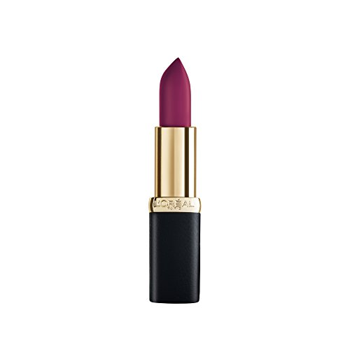 L\'Oreal Paris Color Riche Matte Obsession Lipstick, 463 Plum Tuxedo, 4.8g
