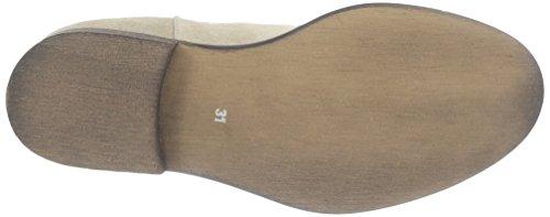 Yep , Boots mixte enfant Beige (Beige/Elastique Jaune)