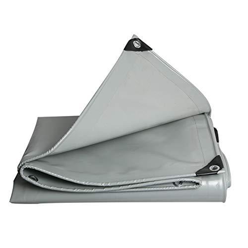 FSBFF Couteau en PVC Grattoir Épaissir la bâche imperméable Écran Solaire Toile de Toile de Lin Punch Chiffon Gris