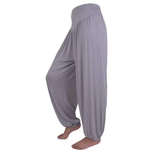 0b6e2cd222 UFACE Pantaloni Casual Larghi di Yoga di Grandi Dimensioni Pantaloni Casual  Pantaloni Larghi di Gamba Lanterna