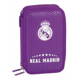 Real Madrid FC- Plumero Triple con 41 Piezas