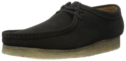clarks-originals-wallabee-herren-derby-schnurhalbschuhe-schwarz-black-sde-445-eu-10-herren-uk