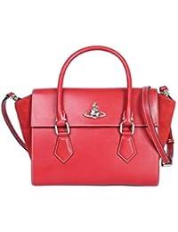 1551d127c1e89 Vivienne Westwood Damen 4202003540525H401 Rot Leder Handtaschen