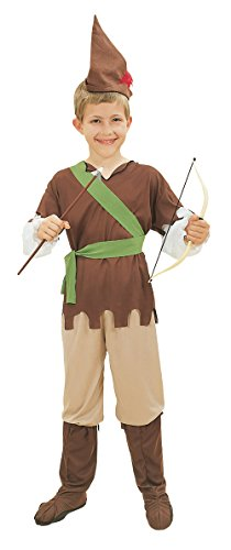 Robin Hood. Budget (M) costume Kids Fancy Dress (Robin Hood Kid Kostüme)