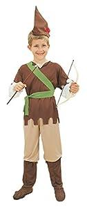 Theme Fancy Dress Disfraz infantil de Robin Hood. 6-9 años