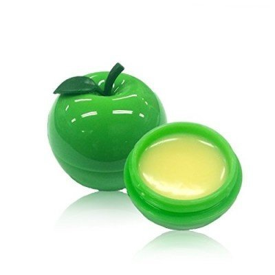 Fruit Lip Balm (Tony Moly - Mini Fruits Lip Balm SPF15 PA+ - 03 Green Apple - Lippenbalsam Döschen - Lippenbalm - Lippenpflege)