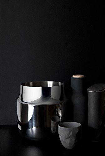 Menu 4730059 Tactile Vase breit, Höhe 18 cm, Durchmesser 17 cm, edelstahl - 3