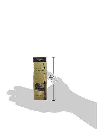 L'Oréal Super Liner Gel Intenza, Eyeliner, Golden Black 02, 2.8 G [Versione inglese]