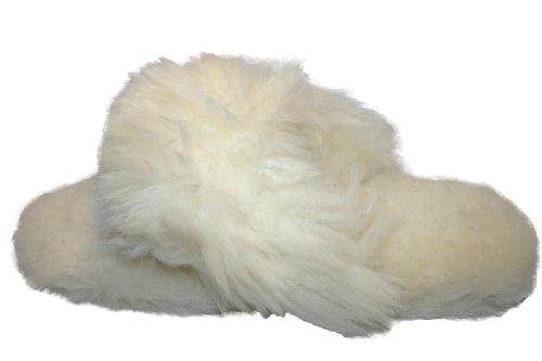 Coolers, Pantuflas De Mujer Blanca