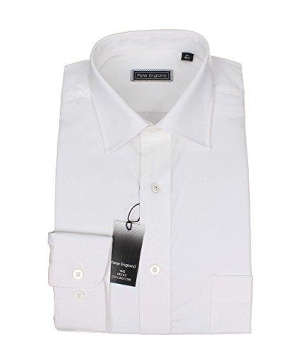 Peter England -  Camicia classiche  - Uomo White