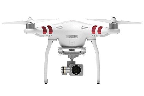 DJI Phantom 3 Estándar - Drone Quadrocopter con la cámara (Full HD, 3 Ejes, Control Remoto Digital), Color Blanco