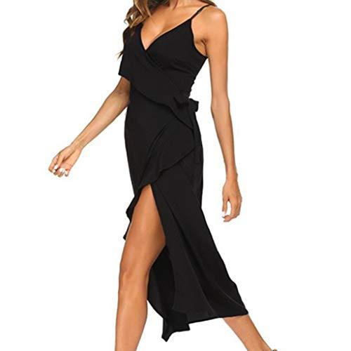 b3debc7fa7 Abito da sera vestito donna abito lungo damigella cerimonia festa ballo e  stola   Offerta