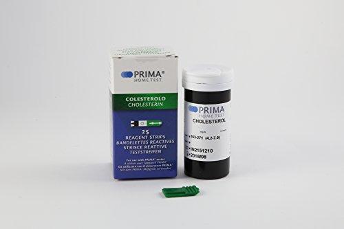 Cholesterin Test Streifen für PRIMA 2in1/3in1 - 25 Streifen (Cholesterin-test)