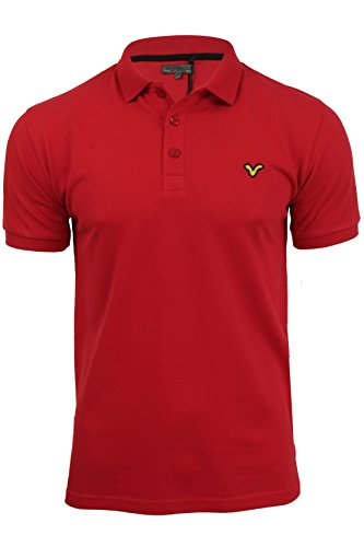 Voi Herren Poloshirt Tim Redford Con - Red/ Gold