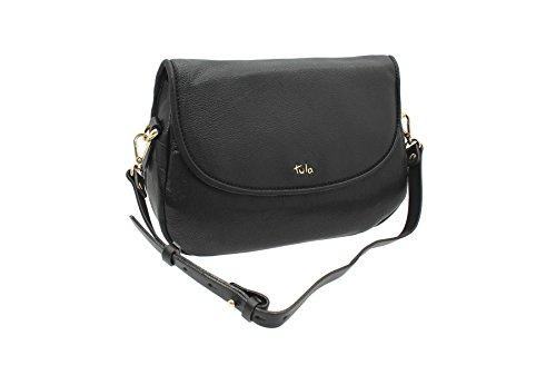 Tula ALPINE Leather Collection Borsa a tracolla 8063 Hosta nero