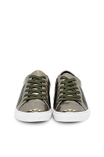 TRUSSARDI JEANS by Trussardi , Chaussures de ville à lacets pour femme Bronze