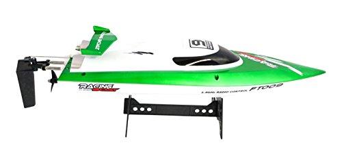 30 Rc-boot Km / H (efaso FT009 - 2.4 GHz Rennboot bis zu 30 km/h schnell, grün)