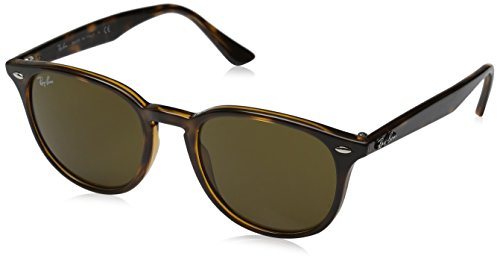 RAYBAN Unisex - Erwachsene Sonnenbrille RB4259, Mehrfarbig (Gestell: Havana,Gläser: braun 710/73), Medium (Herstellergröße: 51)