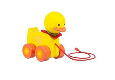 Orange Tree Toys - Duck - Wooden Pull Along