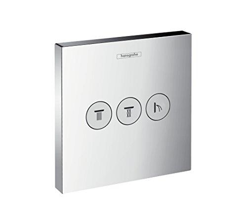 hansgrohe ShowerSelect Unterputz-Ventil, 3 Verbraucher, chrom