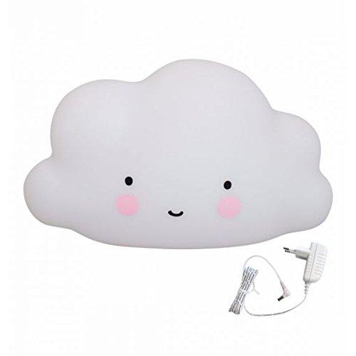 A Little Lovely Company LTCW028 - Lámpara en forma de nube grande
