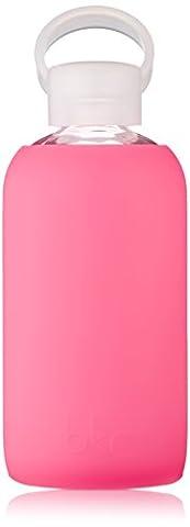 bkr rosy Glass Water Bottle 500 ml