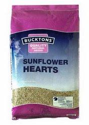 Cranswick Pet Produc - Foods - Buckton Sunflower Hearts 20kg