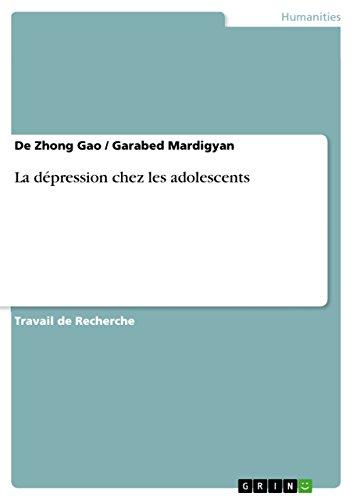La dépression chez les adolescents