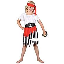 High - Disfraz de pirata para niña, talla S (EG-3554 S)