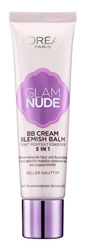 L'Oréal Paris Glam Nude 5in1 BB Cream Blemish Balm, 30 ml