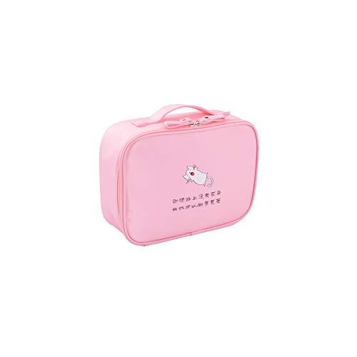 Sac à cosmétiques de voyage polyvalent de haute qualité - Organiseur de toilette de voyage parfait à suspendre, Haute qualité, Portable, Nouveautés (Color : Pink)