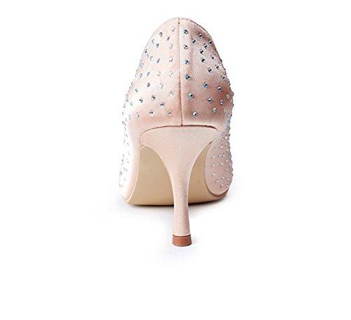 Kevin Fashion , Chaussure de mariée fashion femme Marron - Marrón - champán