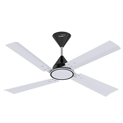 V-Guard Ceilandro Ceiling Fan (White & Black)