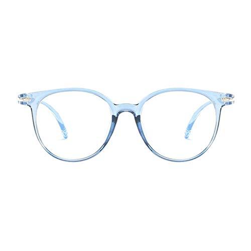 F-blue Blau lichtundurchlässige Brille Anti Augenermüdung dekorative Gläser Licht Computer-Strahlenschutz Brillen