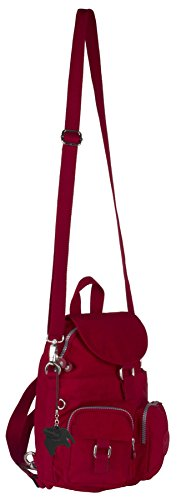 Big Handbag Shop , Sacs bandoulière mixte adulte Red