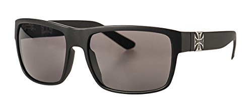 West Coast Choppers Sonnenbrille FTW Smoked Lenses, Größe:one size, Farbe:matte black