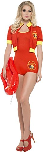 nzprodukt Fancy Kleid weiblich Baywatch Lifeguard Kostüm rot, Rot (Damen Kostüm Lifeguard)