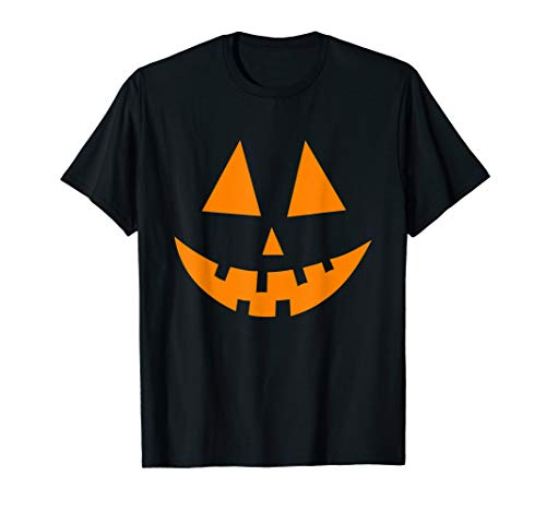 Jack O´Lantern Kürbis Gesicht T-Shirt T-Shirt (Green Lantern Kostüm Halloween)