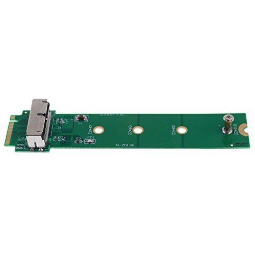 Sharplace Festkörper SSD zu M.2 NGFf PCI-e Adapter Karte Konverter für 2014 MacBook Pro Retina A1502 A1398 (MGX72 MGX82 MGX92 MGXA2 MGXC2)