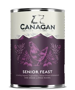 Canagan GRAIN FREE SENIOR FEAST With Added Joint Health FOR