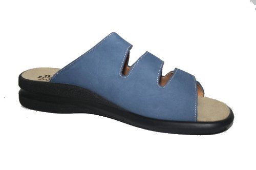 Ganter Selina 7.202902 Damen Pantoletten, Weite F Blau