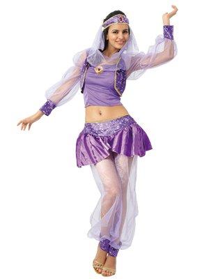 Boland 87376 - Kostüm Haremsdame Violett, Einheitsgröße 36-42
